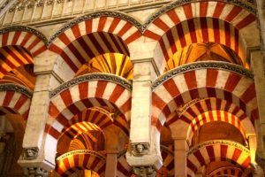 Arches_in_the_Mezquita,_Cordoba,_Spain_(3318182614)